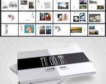 作品集画册PSD模板