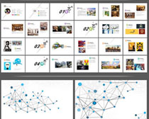 設計作品展示畫冊PSD模板