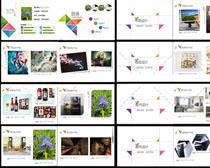 藝術學院設計集畫冊PSD模板