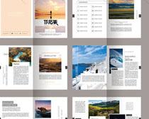 简介设计集画册PSD模板