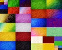 色彩形状格子背景摄影高清图片