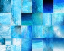 水彩蓝色背景摄影高清图片