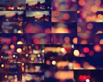 色彩朦胧灯光摄影高清图片