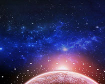 宇宙太空�梦幻PSD素材