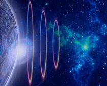 地球超声波背景PSD素材