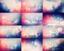漂亮的色彩云层摄影高清图片
