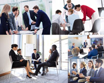 职场商务人士讨论会议摄影时时彩娱乐网站
