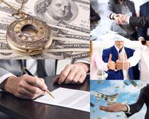 美元金融商务人士摄影高清图片
