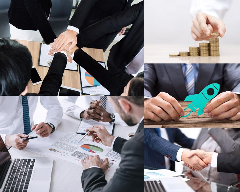 商务团队精神人物摄影高清图片