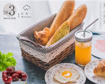 营养早餐遇见广告PSD素材