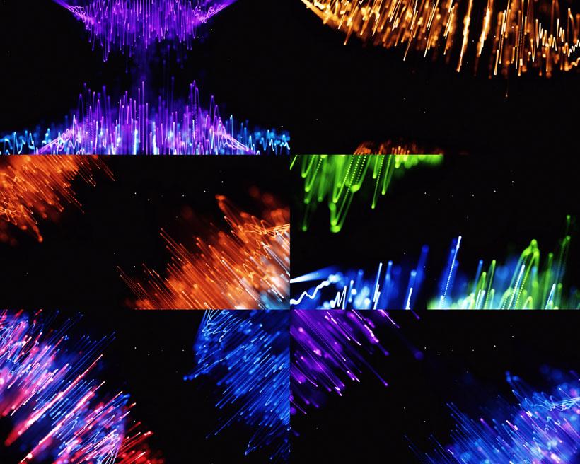 色彩动感背景摄影高清图片