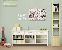 书房设计风格PSD素材