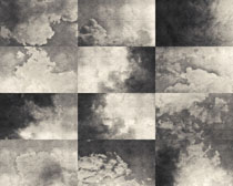 懷舊云朵背景攝影高清圖片