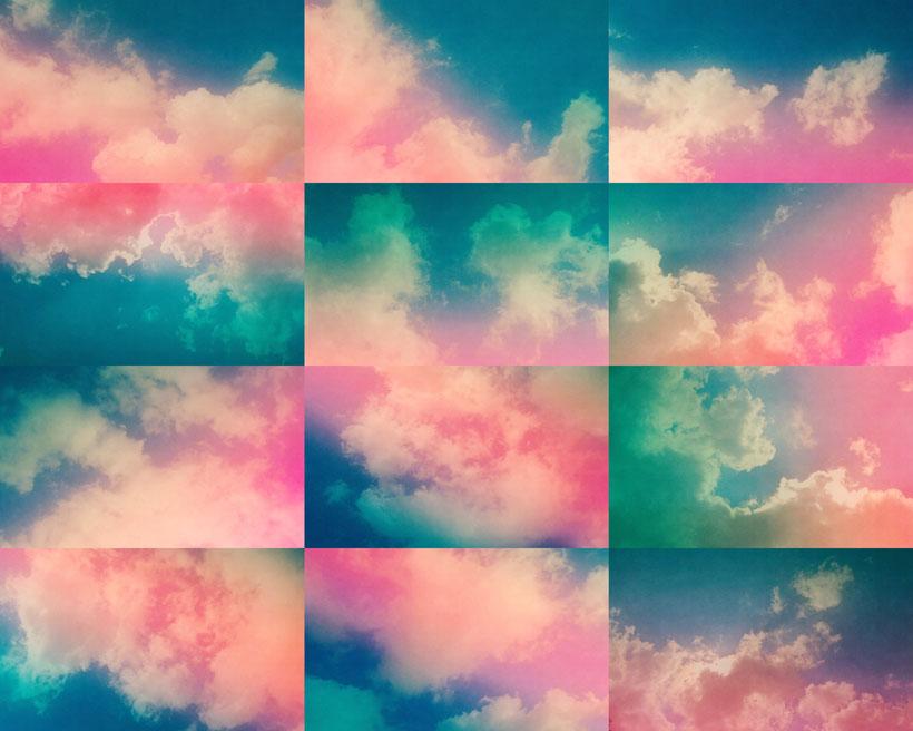 天空色彩云摄影高清图片
