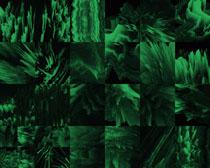 绿色绘画形状展示摄影高清图片