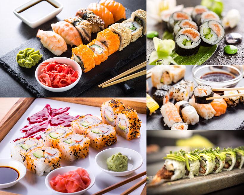日本美食寿司摄影高清图片
