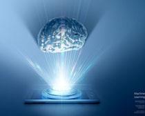 科技大☆脑背景PSD素材