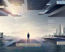 现代科技人类∑ PSD素材