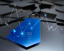 背景科技�e展示PSD素材