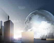 商务科技海报展示∞PSD素材