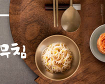 韩国菜广告PSD素材