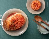 泡菜与餐具PSD素材