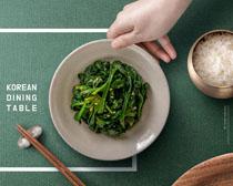 韩国蔬菜广告PSD素材