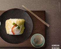 餐具与泡菜PSD素材