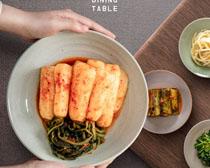 韩国美食泡菜PSD素材