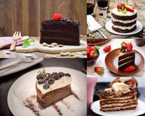 蛋糕巧克力水果食物摄影高清图片