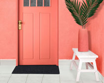 门与■花盆家居PSD素材