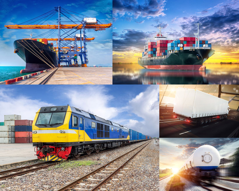交通工具货运摄影高清图片