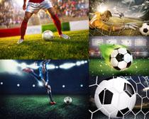 體育足球運動比賽攝影高清圖片