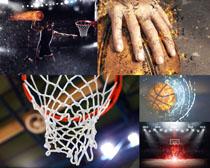 動感運動籃球攝影高清圖片