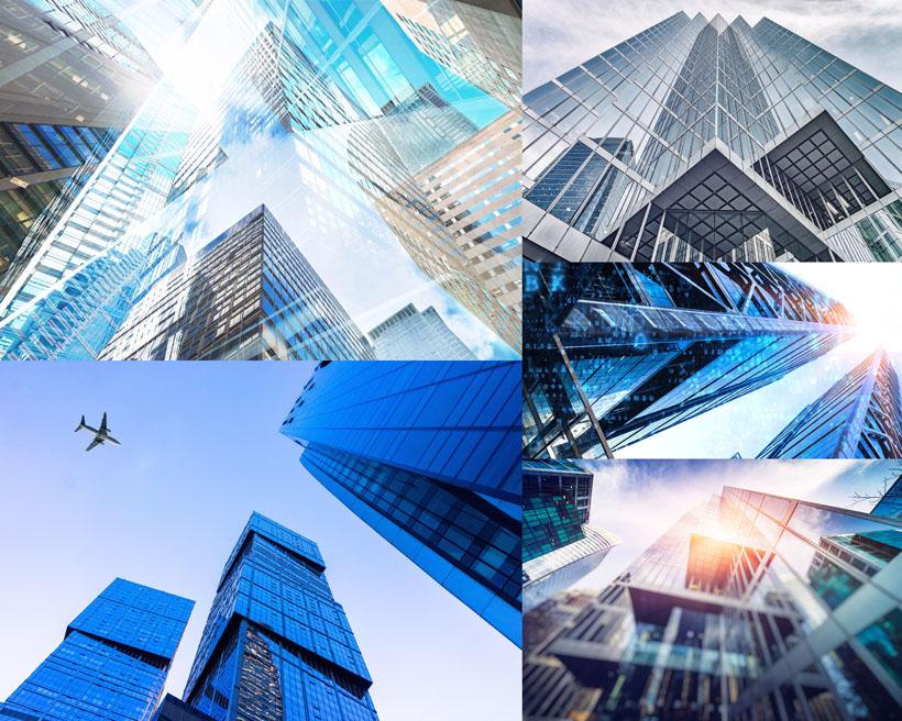 辦公建筑大廈攝影高清圖片