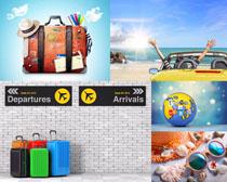 休闲旅游行李摄影高清图片