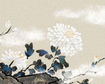 水墨花朵画时时彩投注平台
