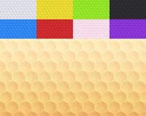 蜂窝色彩背景图案摄影高清图片