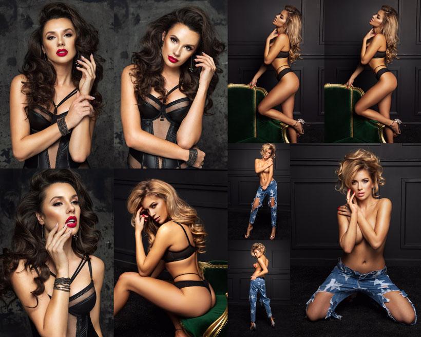 性感的欧美女人写真摄影高清图片