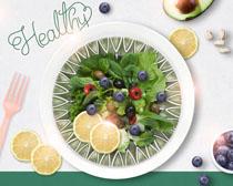 蔬菜水果广告PSD素材