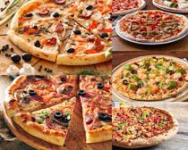 披萨美食展示拍摄高清图片