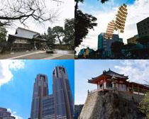 景点与大厦建筑摄影高清图片