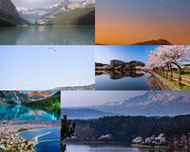 美丽的山水风光景色摄影高清图片