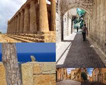 古建筑風景攝影高清圖片