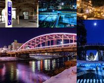 建筑桥梁房屋摄影高清图片
