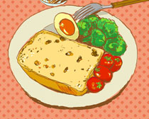 面包鸡蛋插画时时彩投注平台