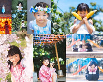 可爱小姑娘写真摄影高清图片
