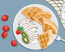 早餐绘画展示PSD素材