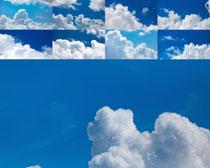 蓝色天空云朵摄影高清图片