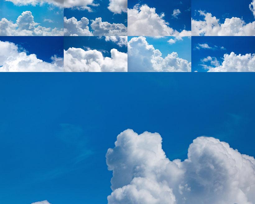 蓝色天空云朵摄影时时彩娱乐网站